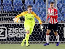 Waalrenaar Youri Roulaux wil zoveel mogelijk wedstrijden meepakken bij Jong PSV