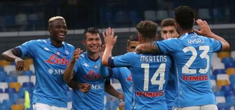 Napoli haalt uit, Zlatan-loos AC Milan verslaat Crotone