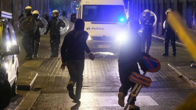 Politieagent vuurde van dichtbij rubberen kogels af op jongere bij Brusselse rellen