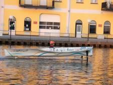 Studenten ontwerpen boot die vaart én vliegt op waterstof: 'Alles is anders dit jaar, zo ook onze boot'