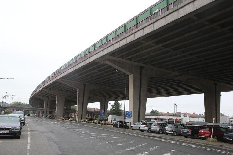 Het viaduct van Gentbrugge.