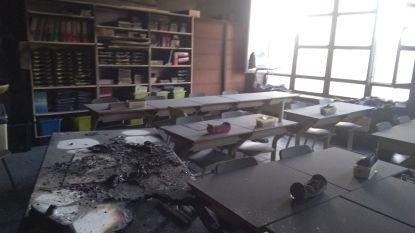 Lessen afgeschaft nadat brand ontstaat in klaslokaal
