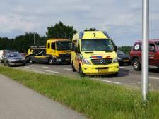 Kop-staartbotsing in Rhenen, niemand gewond