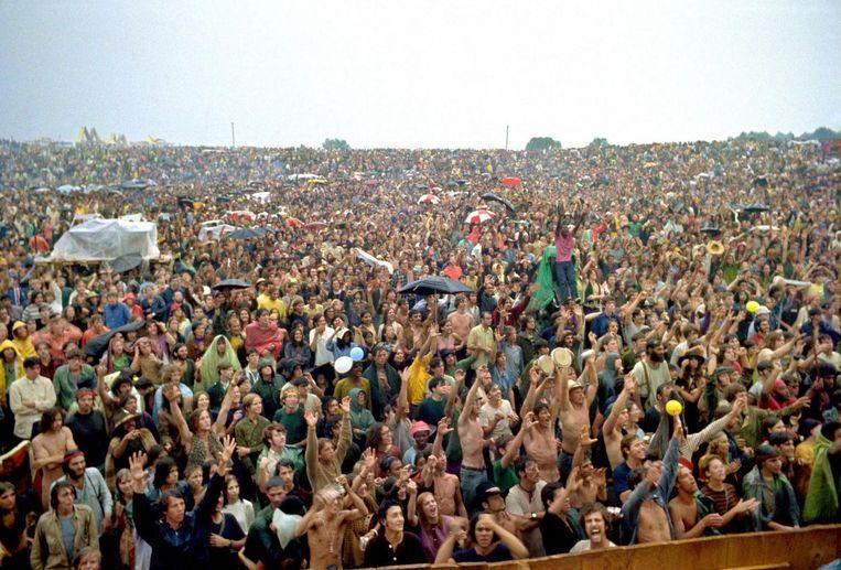 Woodstock Festival, 1969 Beeld anp