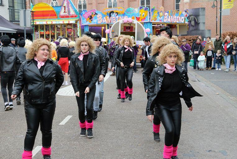 Archiefbeeld van carnaval in Herenthout in 2019