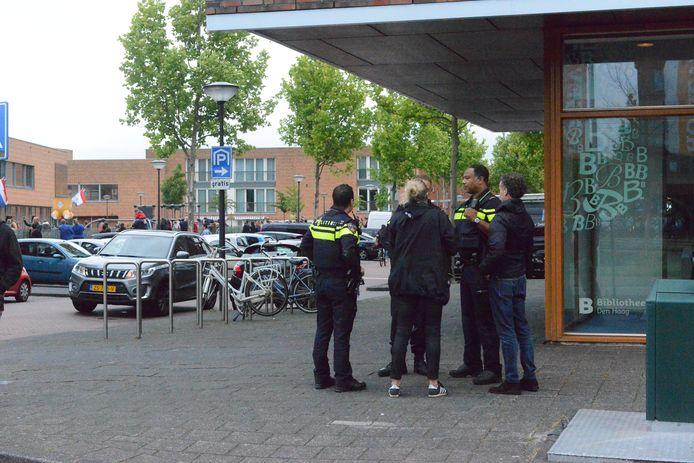 Steekpartij Laan van Wateringse Veld.