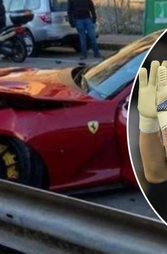 Doelman van Genoa zet Ferrari van 394.000 euro 's morgens bij carwash af en krijgt die perte totale terug