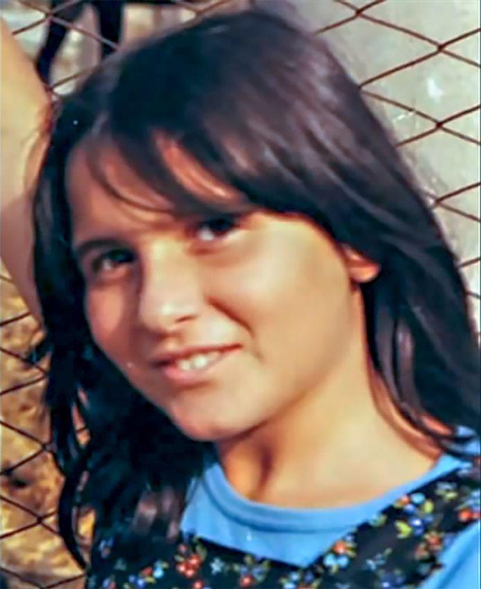Portret van het sinds 1983 vermiste Italiaanse meisje Emanuela Orlandi .