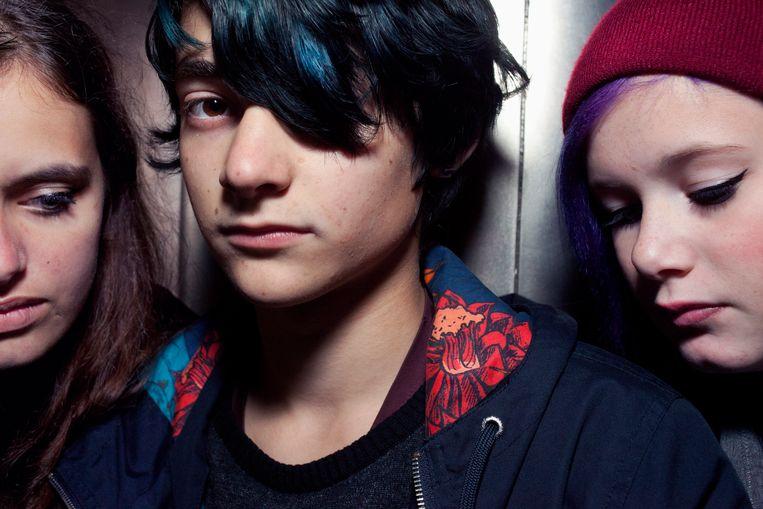 Een foto uit het project 'Ik ben zeventien' van fotograaf Martijn van de Griendt. Beeld Martijn van de Griendt