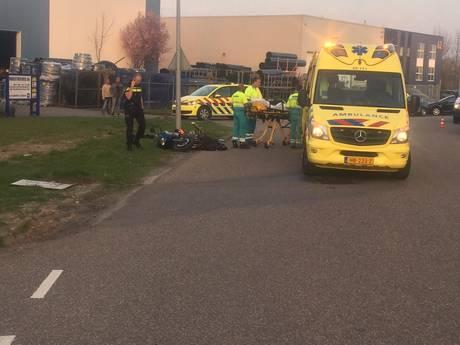 Motorrijder ernstig gewond bij eenzijdig ongeval Zeewolde