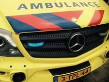 Motorrijder gewond door val bij Schore