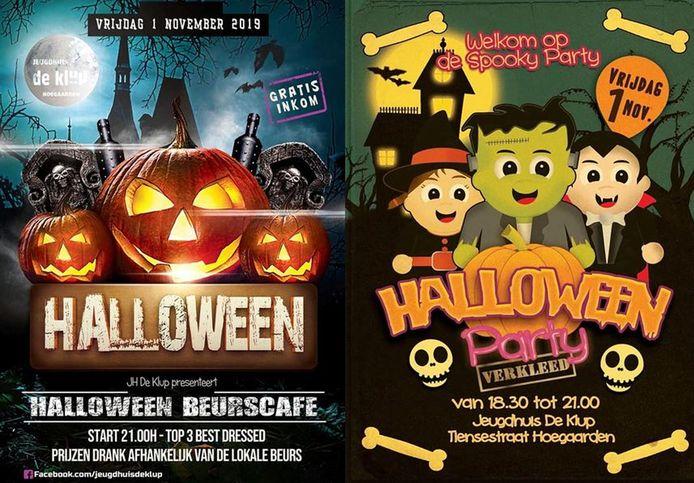 De affiche voor Halloween