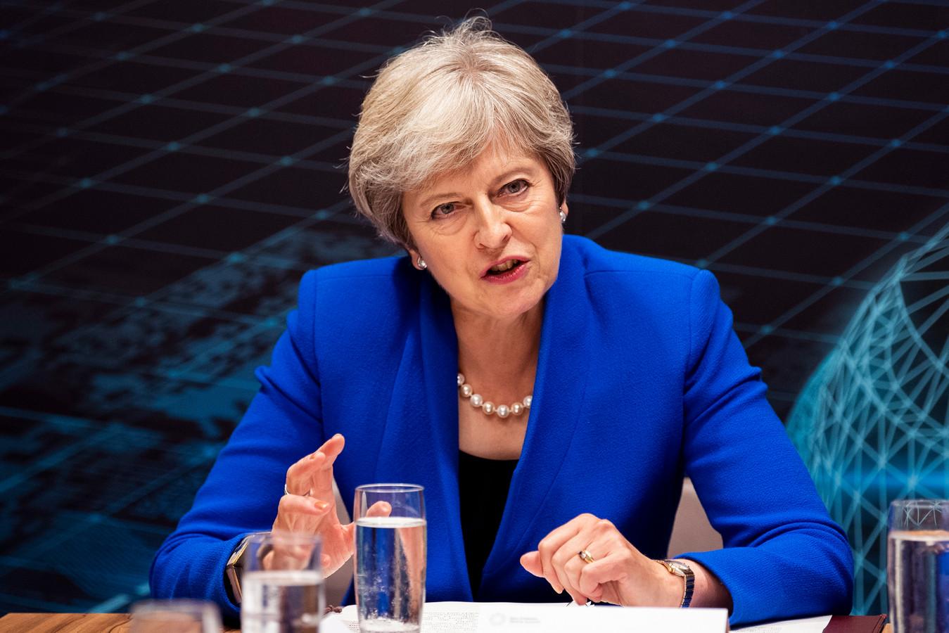 Theresa May op archiefbeeld