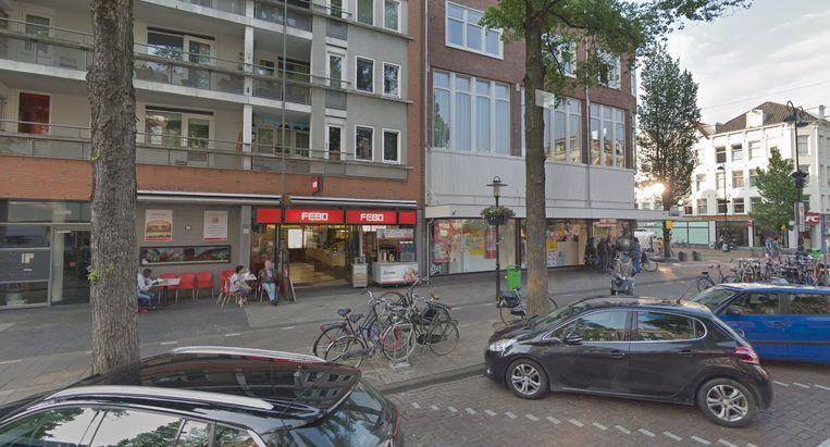 De Febo aan de Eerste Van Swindenstraat. Beeld Google Streetview