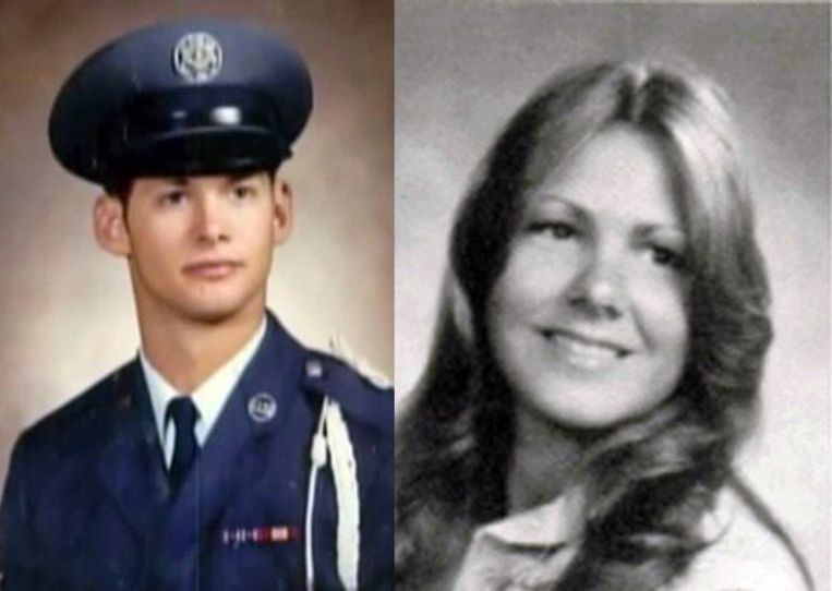 Links: Joseph DeAngelo als jonge agent. Rechts: Katie Maggiore, zijn eerste vrouwelijke slachtoffer die de nachtmerrie met haar leven moest bekopen.