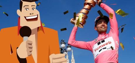 Quiz | Wie werd in de Giro van 2017 tweede in het eindklassement achter 'Turbo Tom'?