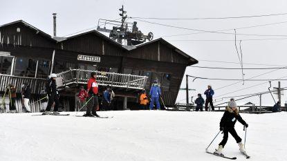"""Skiën in eigen land? """"Morgen topdag, in het weekend is sneeuw al weg"""""""