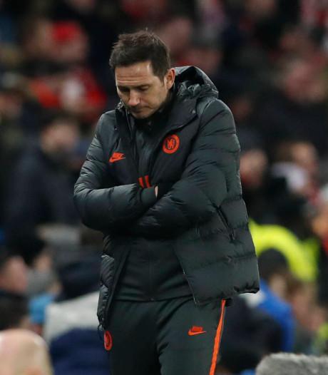 Lampard keihard voor Chelsea: 'We zijn weggespeeld en afgestraft'
