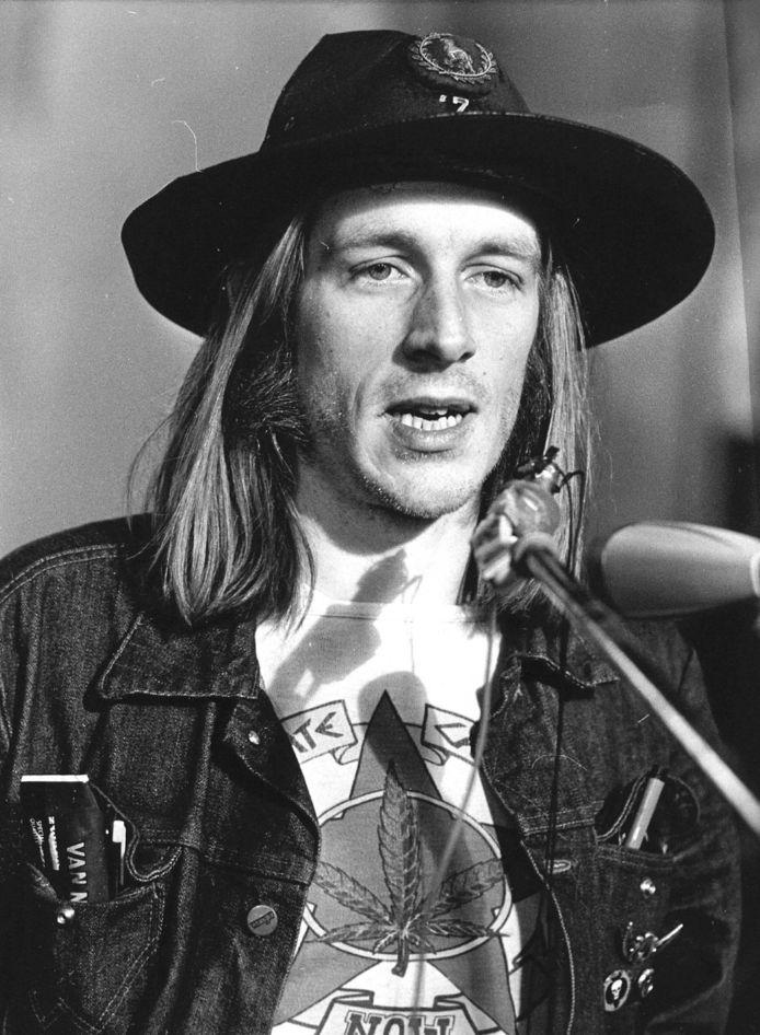 Koos Zwart in 1977.