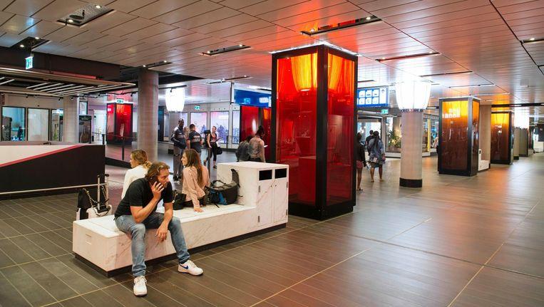 Lil'Amsterdam bij de Amstelpassage op Centraal Station Beeld Charlotte Odijk
