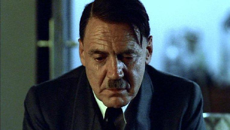 Bruno Ganz als Adolf Hitler in Der Untergang. Beeld
