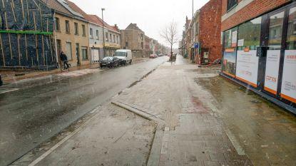 Fietspad Antwerpsesteenweg krijgt bocht aan inrit De Weverij