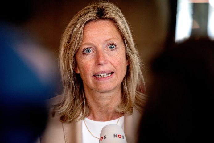 Minister Kajsa Ollongren (D66).