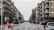 De Kust is nu geen vakantieoord en dat is eraan te zien: straten en pleinen nog nooit zo leeg vlak voor paasvakantie