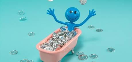 Maakt geld gelukkig? 'Lil' Kleine ziet er niet bepaald ongelukkig uit'