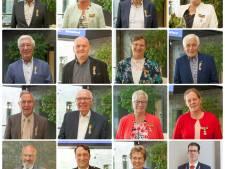 15 Berkellandse 'gedecoreerden' alsnog van hun 'lintje' voorzien door de burgemeester
