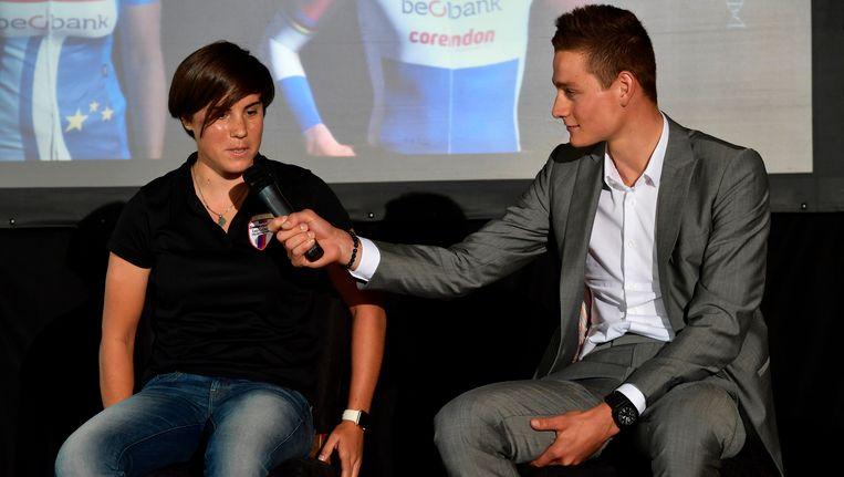 Sanne Cant en Mathieu van der Poel
