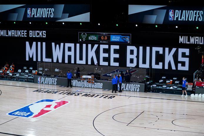 De Milwaukee Bucks weigerden te spelen.
