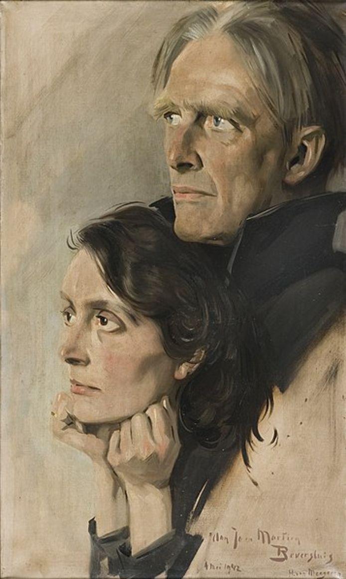 Han van Meegeren: portret van Martien Beversluis en Dignate Robbertz, 1942