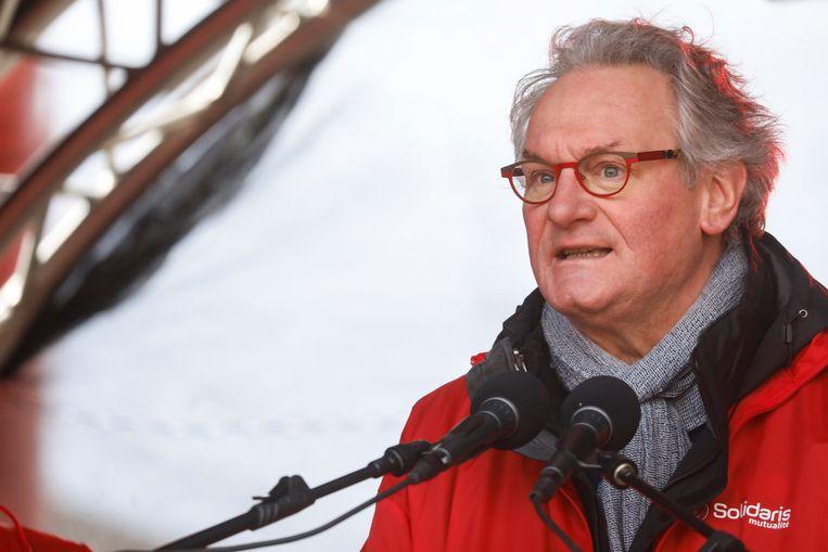 Solidaris-topman Jean-Pascal Labille, oud-minister van Overheidsbedrijven in de regering Di Rupo.
