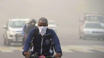 New Delhi neemt noodmaatregelen tegen acute luchtvervuiling