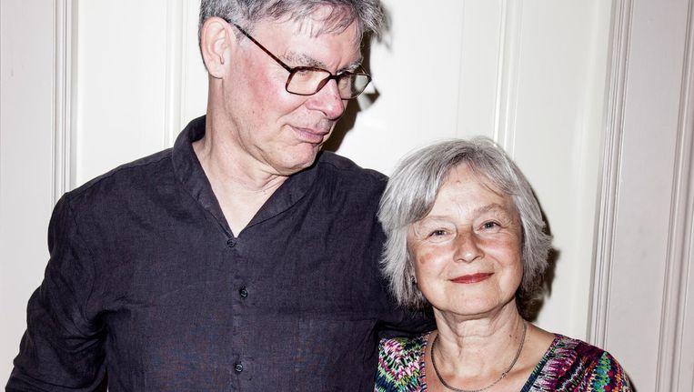 Documentairemakers Peter Lataster en Petra Lataster-Czisch. 'We zijn van plan om de kinderen van Juf Kiet weer op te zoeken.' Beeld Linda Stulic