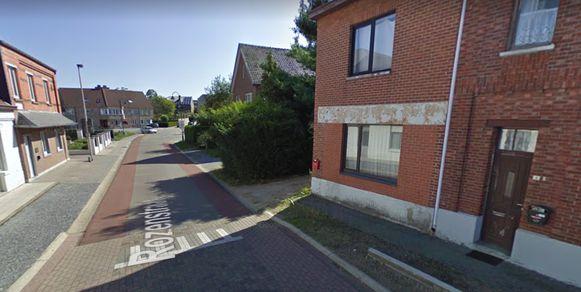 De Rozenstraat in Oudsbergen.