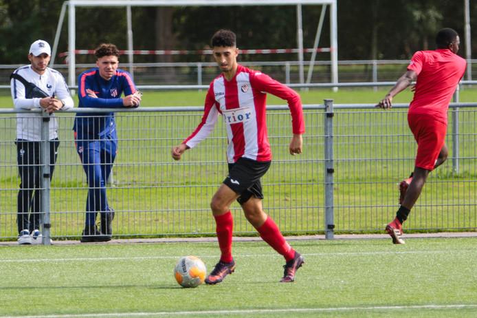 Abdoe Abdenbi scoorde wederom voor Vlissingen, maar kon een nederlaag niet voorkomen.