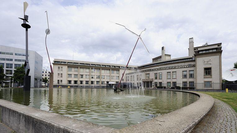 Het Joegoslavië-Tribunaal in Den Haag. Beeld anp
