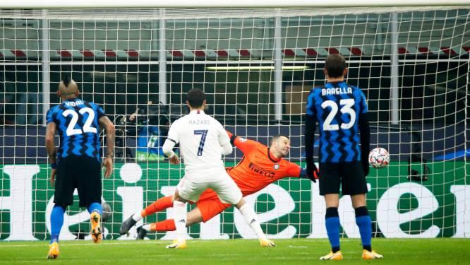 Herbekijk hier de strafschopgoal van Hazard en alle andere hoogtepunten uit Inter-Real Madrid