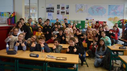 Leerlingen en schepencollege bedenken zelf gedicht rond 'klimaatverandering'