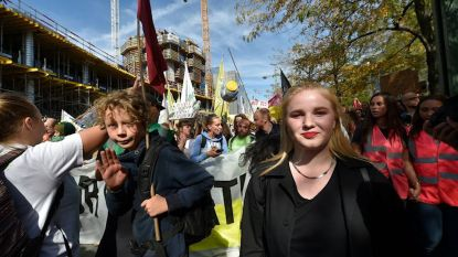 Kyra Gantois toch aanwezig bij klimaatmars in Brussel