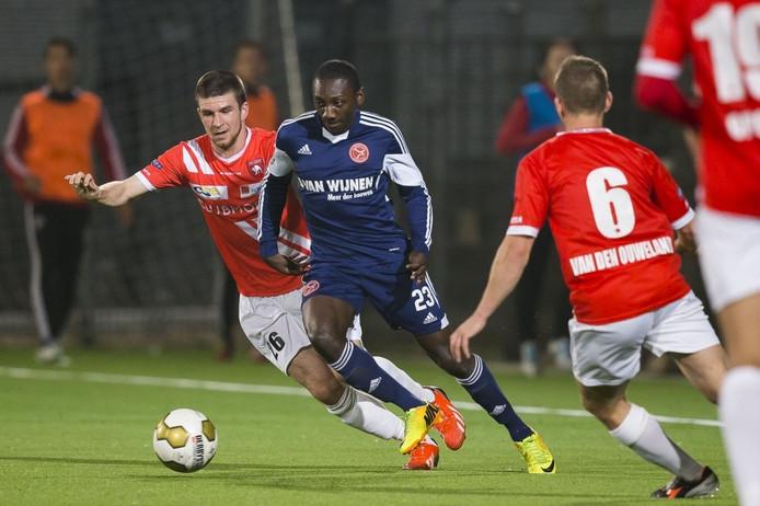 Rashid Browne speelde 3 seizoenen geleden met Almere City FC nog tegen FC Oss.