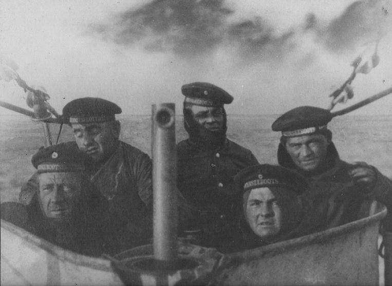 Repro Benny Proot Oostende duitse duikboot uit eerste wereldoorlog gevonden