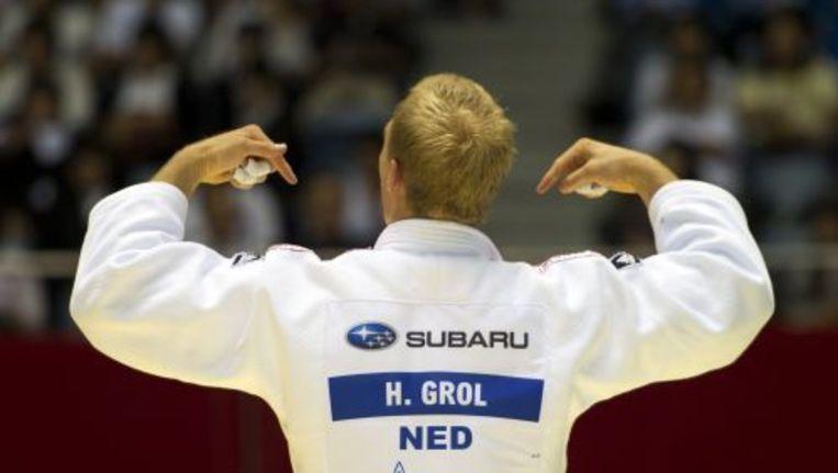 Judoka Henk Grol. ANP Beeld