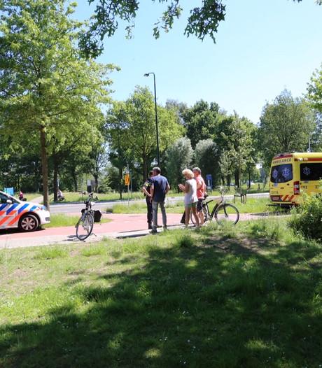 Vrouw valt met fiets in Bladel