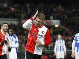 Feyenoord slaat dankzij goals Jørgensen gaatje met Heerenveen