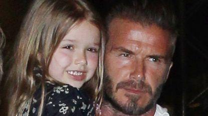 Superschattig: David Beckham zingt samen met zijn dochtertje 'Tomorrow' uit de musical Annie
