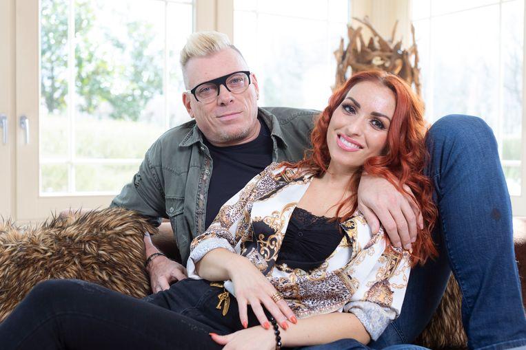 Pat Krimson en vriendin Loredana