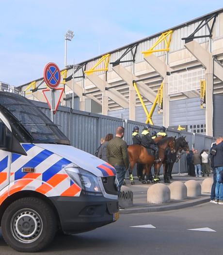 NAC-beveiliging kreeg lucht van rellen na wedstrijd tegen Willem II, maar kon niet op tijd ingrijpen
